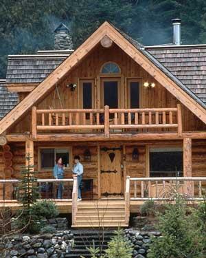 Buster 39 s log homes banner elk north carolina for Banner elk home builders